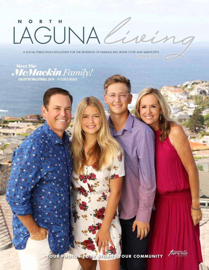 Tamie Rus featured in Laguna Living October 2019
